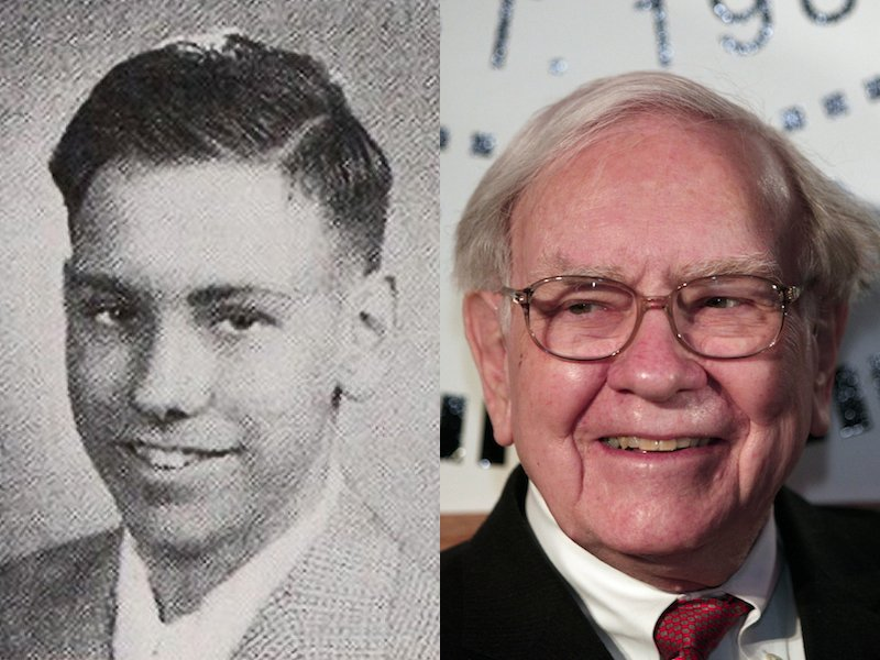 Image result for old young warren buffett